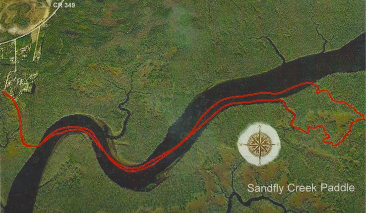Suwannee-Sandfly Creek Paddle-Graphic - Version 2